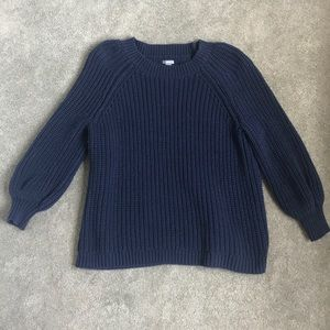 Navy Pullover Sweater